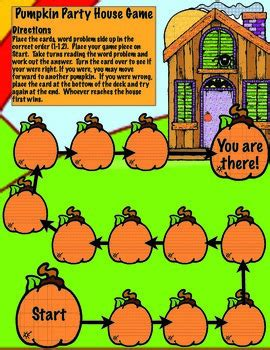 halloween math word problems   print  digital tpt