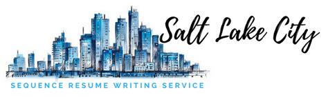 salt lake city resume writing service and resume writers