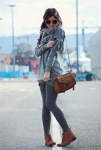 Grey cardigan leggings   Outfits u0026 Stuff   Pinterest ...