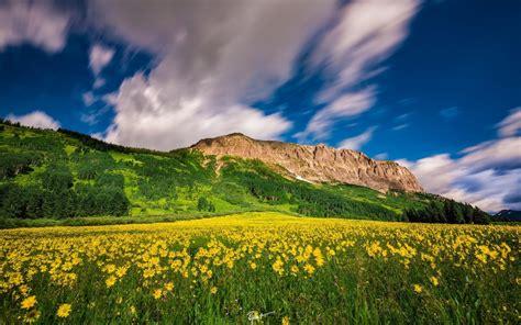 Stunning Mountain View Landscap 4k Wide Wallpaper