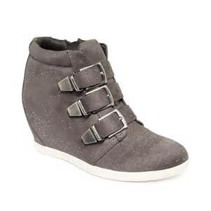 Material Girl Wedge Sneakers