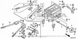 Honda Eb6500x Ah Generator  Chn  Vin  Ealc