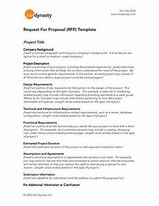 net dynasty rfp template With request for proposal architectural services template