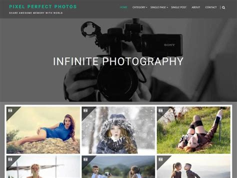 Best Photographer Website by The Best Themes For Photographers 2019 Make A
