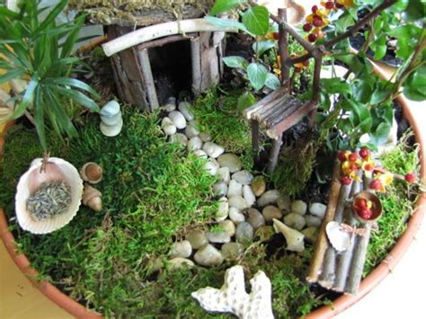Miniature Fairy Garden Designs