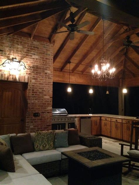 Rustic Pool House With Outdoor Kitchen Old Carolina Used