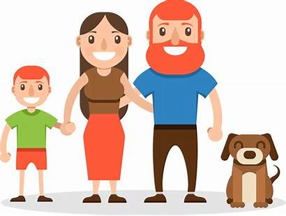 Cartoon Human Happy Transparent Animation Behavior Keluarga