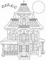 Gingerbread Coloring Pages Christmas Pdf Colouring Breathtaking Printable Adult Houses Sheets Favecrafts Primecp Irepo Grown Number Easter sketch template