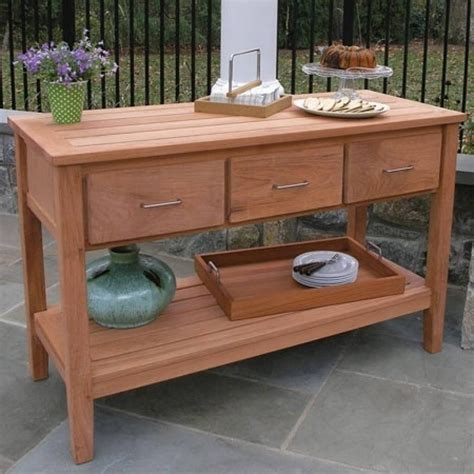 Outdoor Buffet Sideboard by 15 Photo Of Outdoor Sideboards