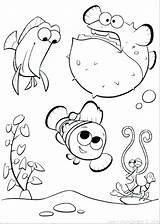 Aquarium Coloring Pages Tank Nemo Finding Army Printable Print Getcolorings Pa sketch template