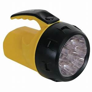 Lampe Led A Pile : lampe torche led puissante 9 leds 4 x pile r6 per ~ Dailycaller-alerts.com Idées de Décoration
