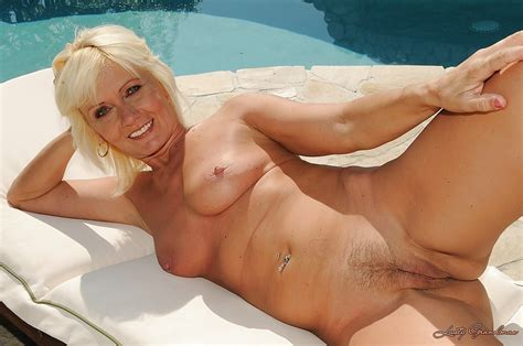 Lusty Mature Blonde On High Heels Kate Blonde Stripping By The Pool Pornpics Com