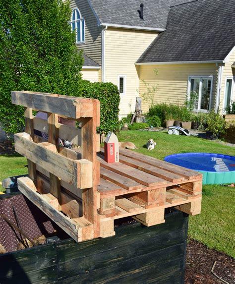 Garten Lounge Möbel Aus Paletten Selber Bauen by Flambierte Diy Sitzm 246 Bel Aus Paletten Der Einfache Und