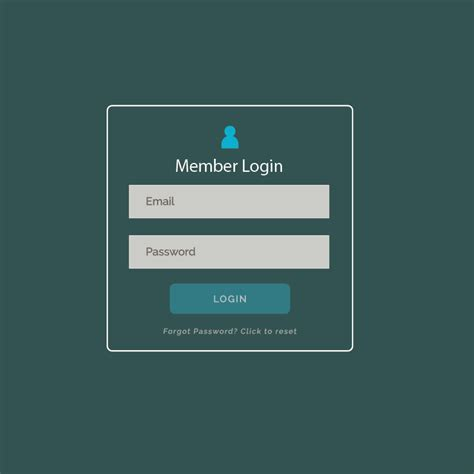 modern login form ui design  website  application