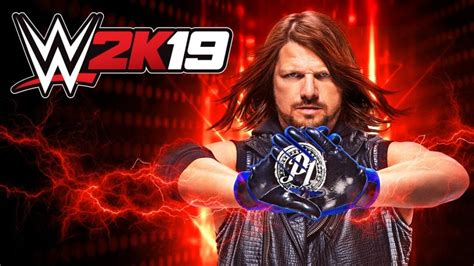 AJ Styles is the Official Cover Wrestler for WWE 2K19 ...