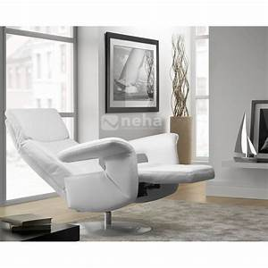 fauteuil rom design relaxation en cuir ou tissu magasin With fauteuil relax design
