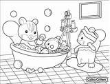Bathroom Coloring Getdrawings Personal sketch template