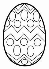 Easter Coloring Egg Pages Preschool Kindergarten Eggs Open Colouring Templates Sheets Crafts sketch template
