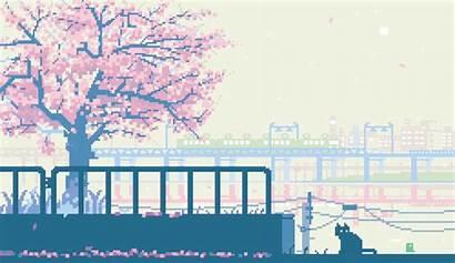 Pixel Japanese Gifs Earth Creates Artist Tokyo