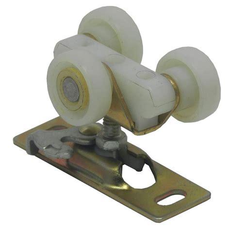 pocket door hardware rollers barton kramer 1 in tri wheel pocket door roller 10375