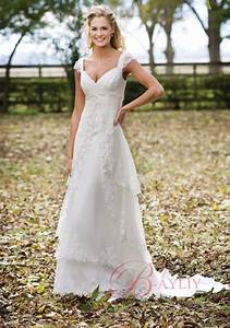 Michael wedding gowns us creative outdoor wedding dresses for Dress for outdoor wedding