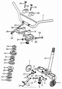 Handlebar   Top Bridge   Steering Stem For Honda Mt125