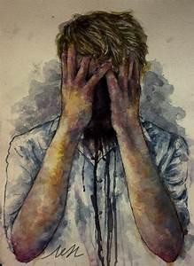 depression by ChaosCake on DeviantArt