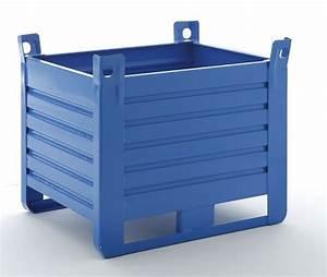Caisse Palette Métallique : caisses palettes en tole tous les fournisseurs ~ Edinachiropracticcenter.com Idées de Décoration