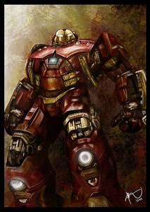 Hulkbuster Armor by Rheza Maulana by rhezM on DeviantArt