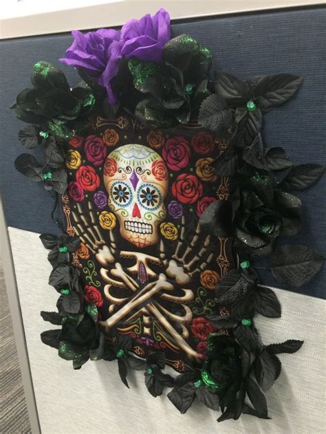 day   dead decor   cent store halloween
