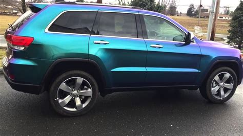 jeep grand cherokee vinyl wrap 2015 jeep grand cherokee wrap youtube