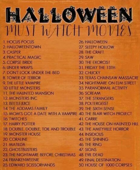 halloween  checklist  images halloween