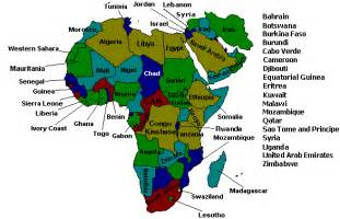 Africa and Middle East Countries