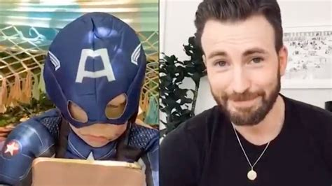 Chris Evans Sent the Sweetest Message to a Boy Who Saved ...