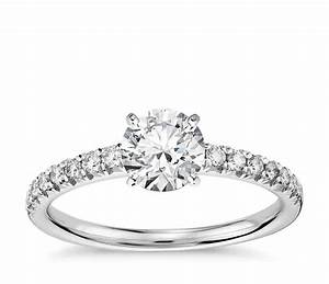 Pave Engagement Rings An Infinity Of Diamonds Wedding