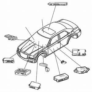 Chrysler 300 Module  Door  Window Memory  Trim   Lux Leather Trimmed Bucket Seats
