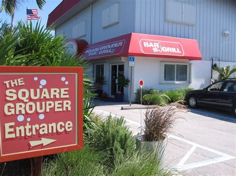grouper square grill bar browse
