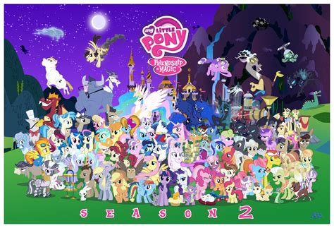 Mlp Characters A T D I My Top 10 Favorite Mlp Fim Characters Season 2