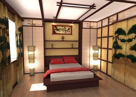 Japanese Bedroom by Bedroom In Japanese Style