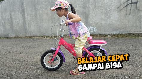 cepat belajar sepeda  anak anak dede senja aa satria youtube