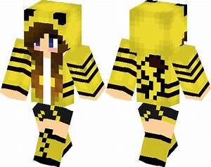 Pikachu Girl Minecraft Skin Minecraft Hub