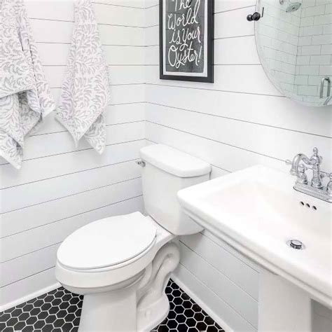 Black And White Bathroom Tile Ideas by Top 60 Best White Bathroom Ideas Home Interior Designs
