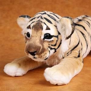 Doux Tigre En Peluche Animaux En Peluche Jouets Oreiller