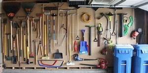 Rangement Outils Garage : 14 super id es de rangement pour le garage ~ Melissatoandfro.com Idées de Décoration