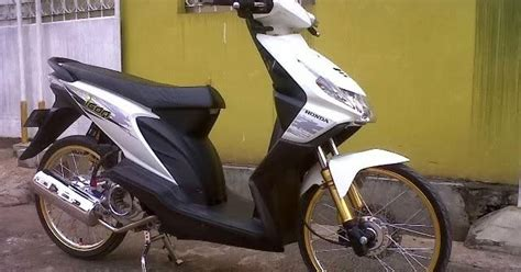 Beat Orange Putih 2014 Modifikasi by Gambar Modifikasi Honda Beat Putih Jari Jari Pelek 17