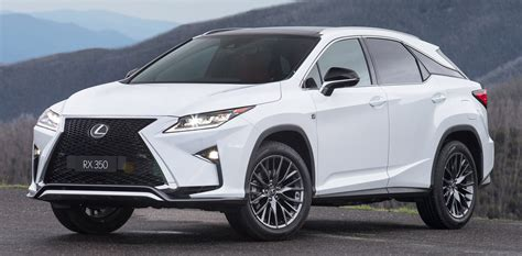 lexus rx   rows coming