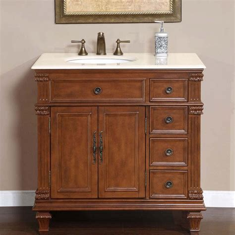 kitchen islands with chairs 36 quot perfecta pa 132 single sink cabinet bathroom vanity