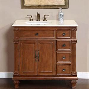 "36"" Perfecta PA-132 - Single Sink Cabinet Bathroom Vanity"