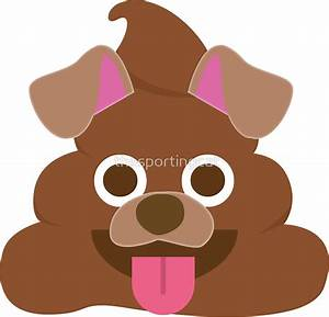 """Poop Emoji - 24 Dog Poo"" Stickers by thesportingcat"