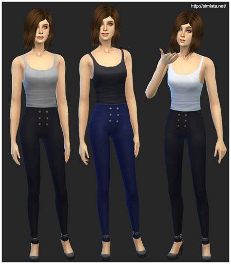 The sims™ 4 cats and dogs plus my first pet stuff bundle full price was $39.99 $39.99 now $35.99 $35.99 with ea play the sims™ 4 dream home decorator game pack High Waisted Pants And Little Tanks | Simista A little ...